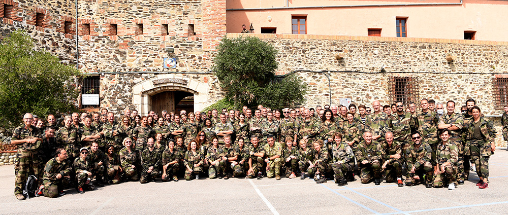©IHEDN | La 73e SN POLDEF au Centre national d'entraînement commando de Collioure