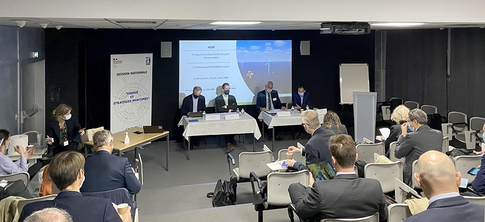 IHEDN   6e SN ESM à Nantes : table-ronde sur les EMR avec Frédéric GRIZAUD, Stevens CURET et Vincent Bales