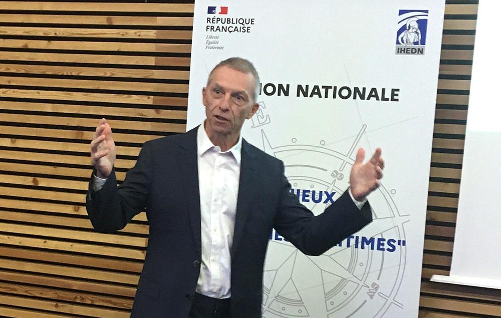 IHEDN   6e SN ESM à Nantes : Didier Besnard répond aux auditeurs