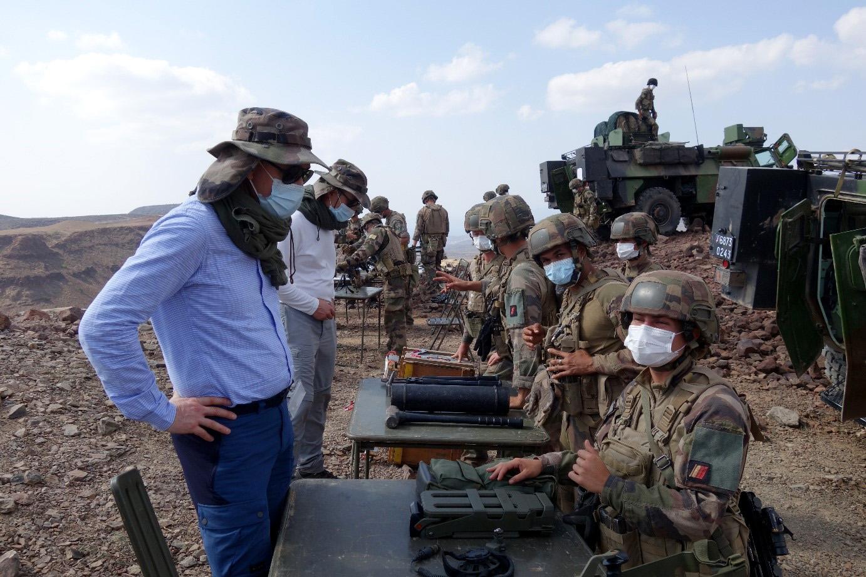 IHEDN   DJIBOUTI 2021 : Explication aux auditeurs de l'emploi d'outil de combat urbain par les soldats du 6e régiment du génie d'Anger
