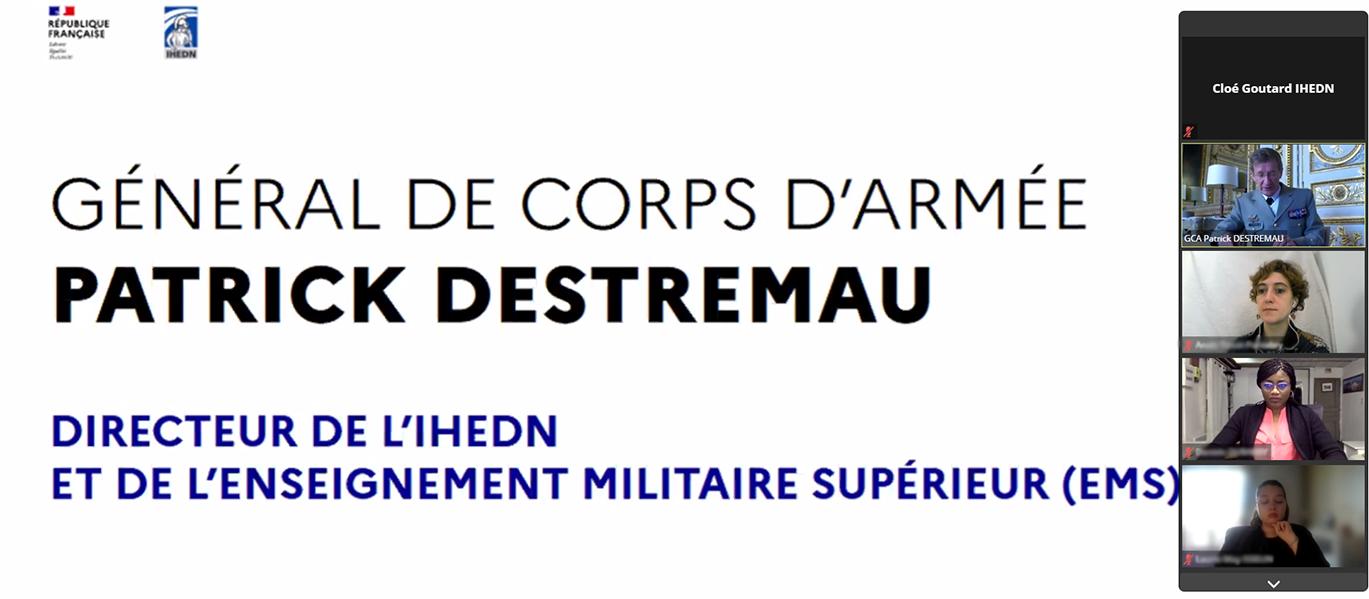 IHEDN | Attachés d'Administration » du ministère des Armées