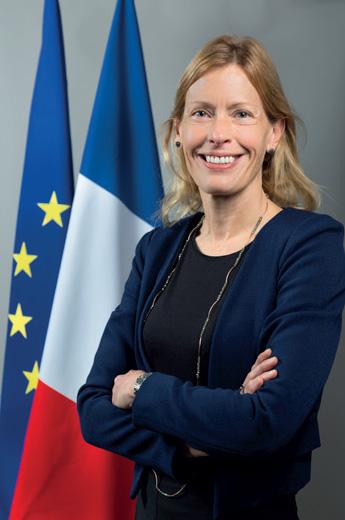 Alice Guitton, directrice générale des relations internationales et de la stratégie (DGRIS) au Ministère des armées
