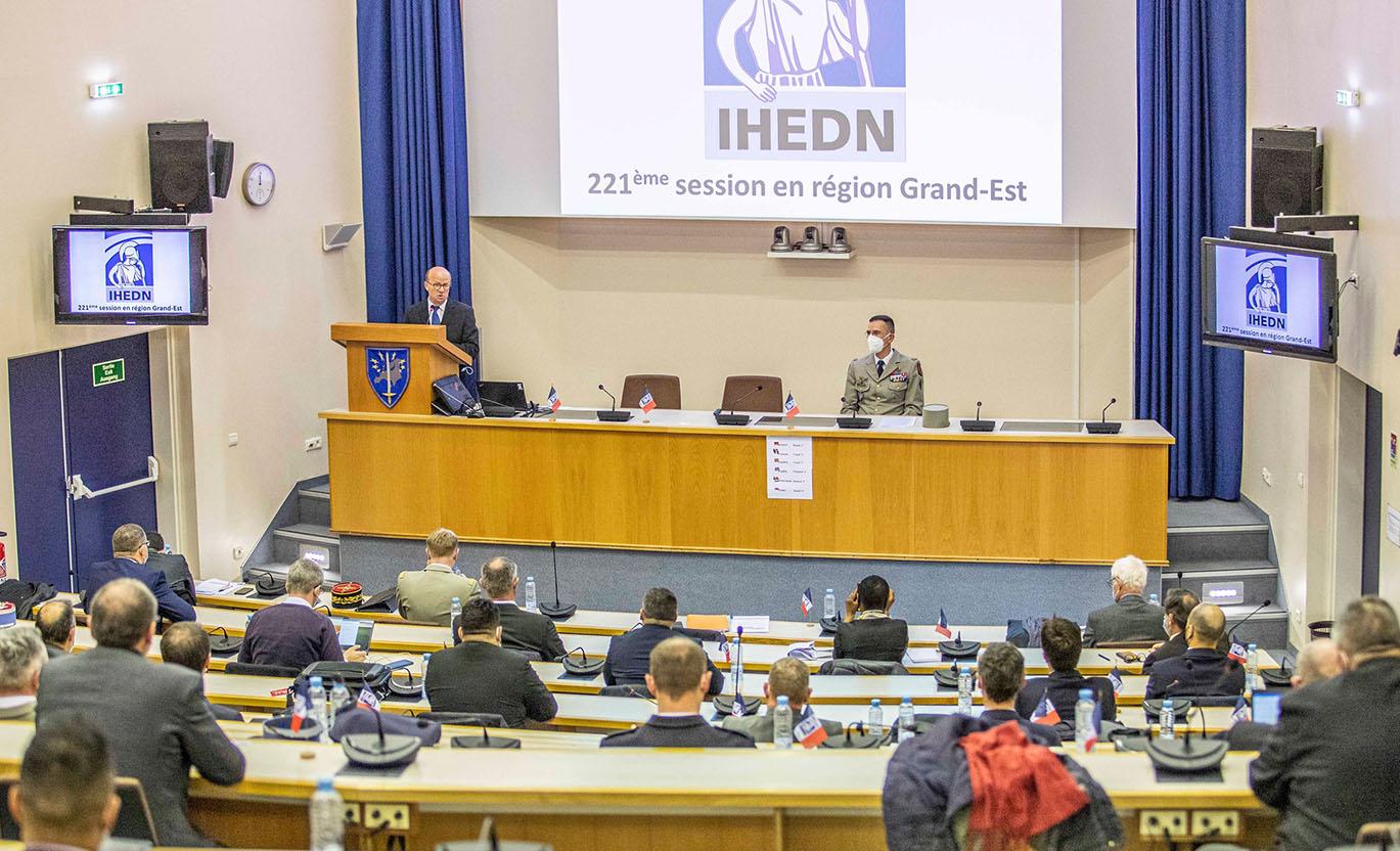 IHEDN | La 221e session en régions au sein de l'EUROCORPS à Strasbourg
