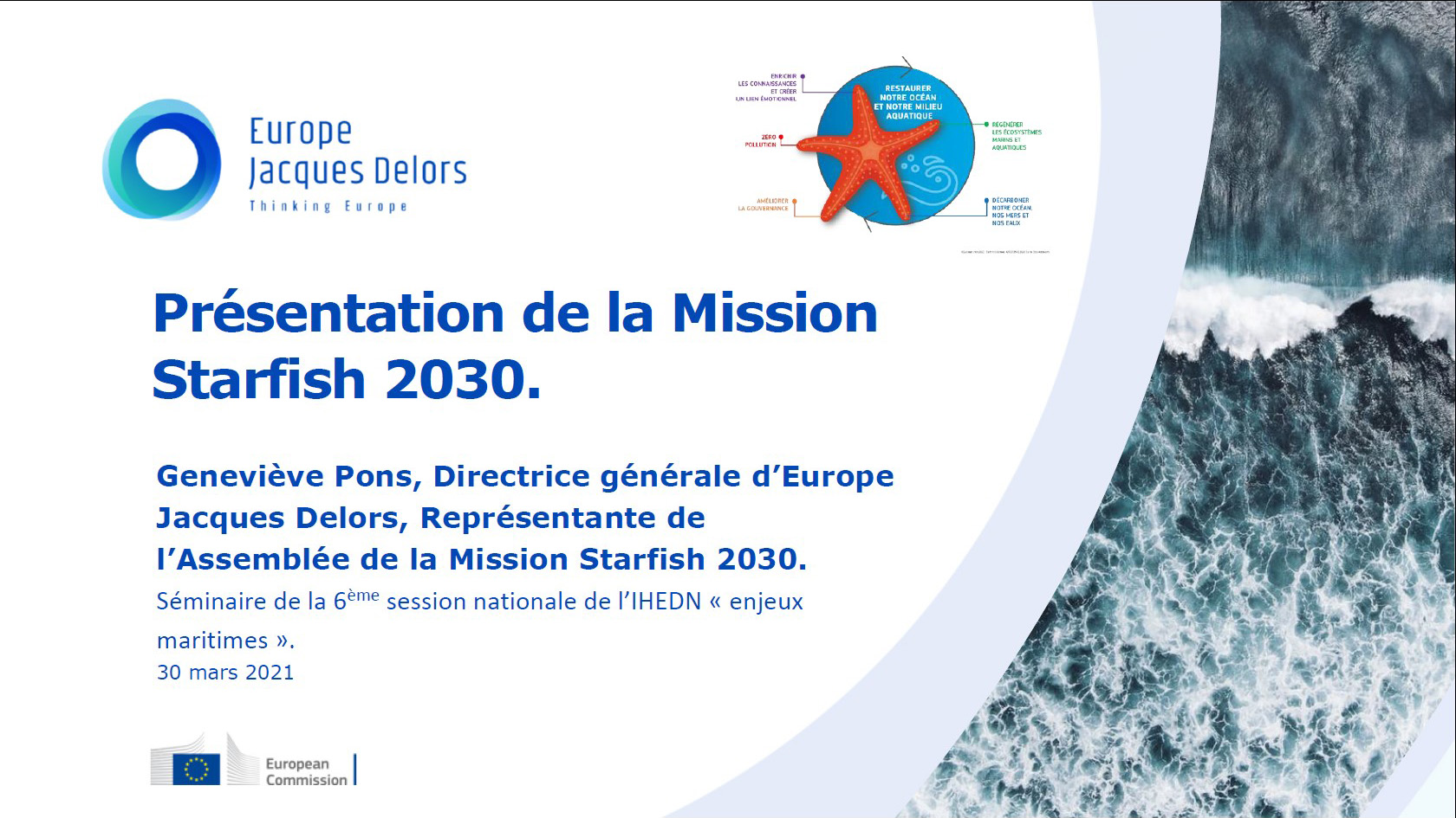 IHEDN | la 6e SN ESM pour sa mission « Europe » © IHEDN ©
