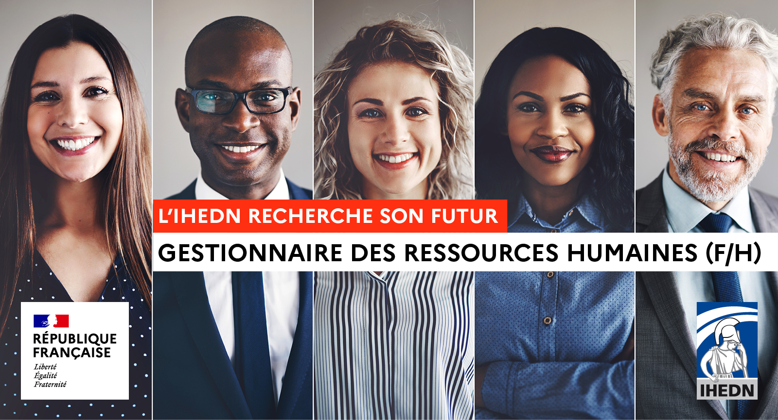 IHEDN - Gestionnaire des ressources humaines (F/H)