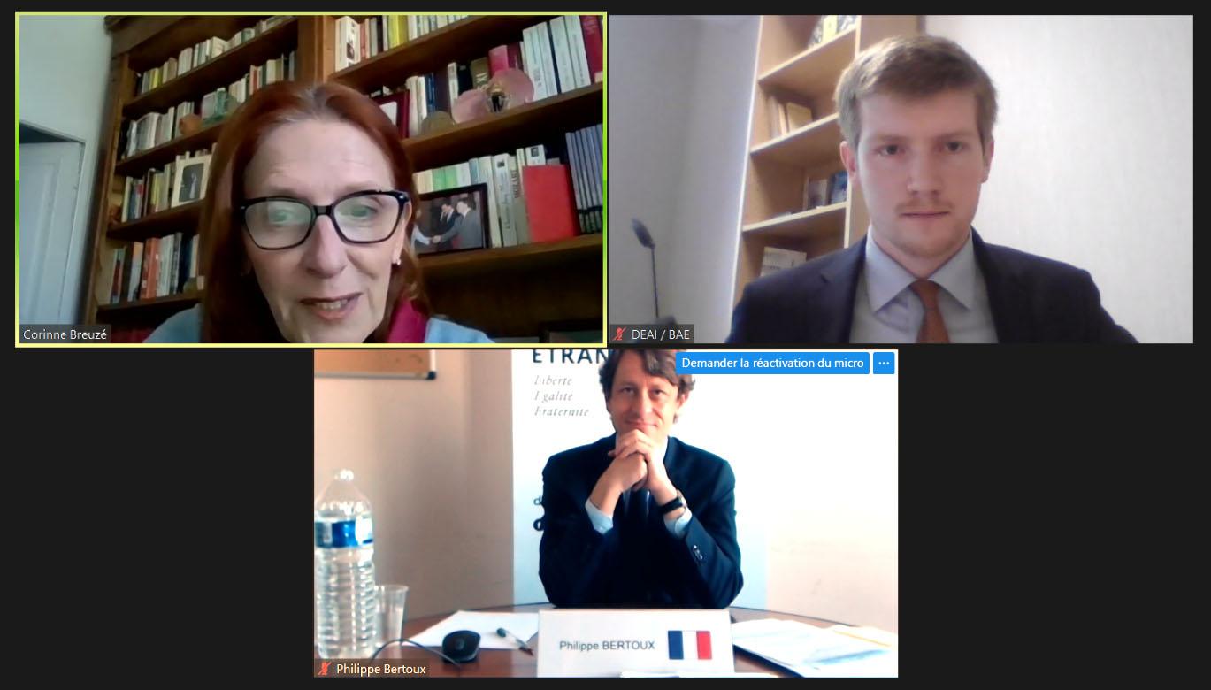 IHEDN | Briefing des ambassadeurs-M. Philippe BERTOUX, Directeur des Affaires stratégiques, de sécurité et du désarmement au Ministère de l'Europe et des Affaires étrangères (MEAE)