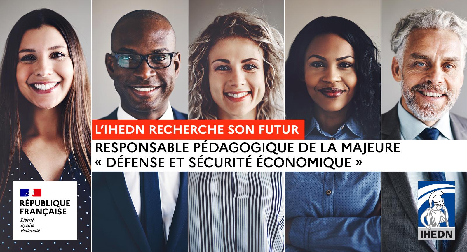 Responsable pédagogique de la majeure « Défense et sécurité économique »